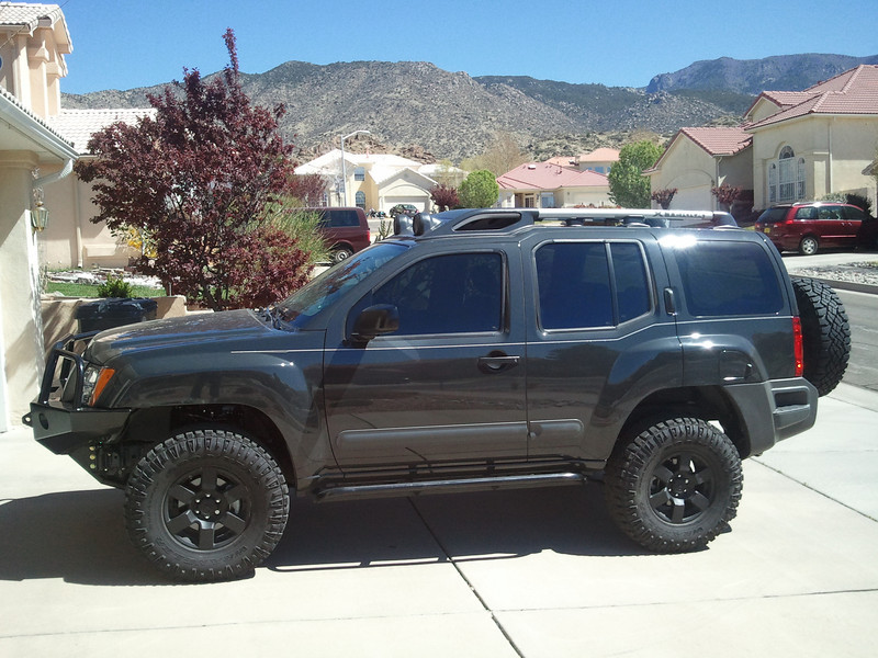 Kevin B's Xterra 4wd Restored Second Generation Nissan
